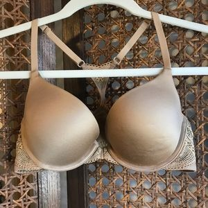 Racerback Bra Lightly Worn Front Clasp